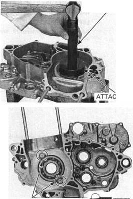 CRANKCASE BEARING REPLACEMENT